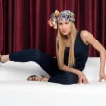 Beautiful blonde in studio. Fashion portrait — Stock Photo