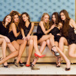Group of beautiful models — Stock Photo #6652767