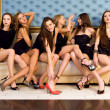 Group of beautiful models — Stock Photo #6652774