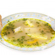 Stock Photo: Chicken soup