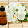Stock Photo: Jasmine oil, essential oil, concentrat