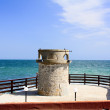 Restored lighthouse Nessebar — Stock Photo
