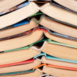 Stock Photo: Books background