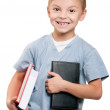 Boy with book — Stock Photo #6403898