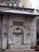 Mosque fountain in Istanbul. Turkey. January 2010 — Stok fotoğraf
