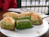 Baklava turc bonbons — Photo