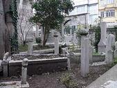 イスタンブールの古い墓地。トルコ — ストック写真
