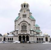 Cathedral of Alexander Nevski. Sofia, Bulgaria — Stock Photo