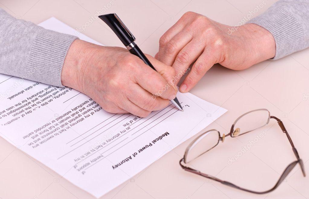 Если не работает рука может человек написать завещание встречался правителями