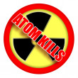 Stock Photo: Atom kills