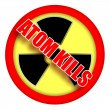 Atom kills — Stock Photo