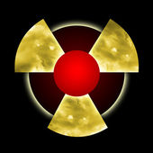 Nuclear pollution — Stock Photo