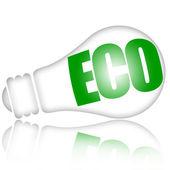 Energy saving eco lamp — Stock Photo