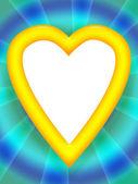 Love Heart Frame — Stock Photo
