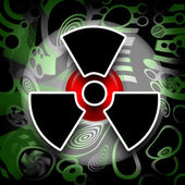 Nuclear Disaster — Stock Photo