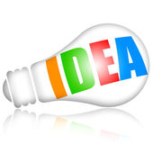 Idea colorida — Foto de Stock