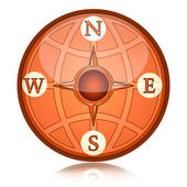 компас — Стоковое фото