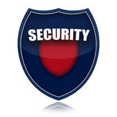 Security shield — Stock Photo