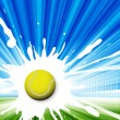 Tennis — Stock Vector #5428444