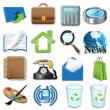 Computer icons — Stock Photo #5498613