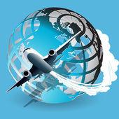 Aviation — Stok Vektör