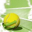 Tennis ball — Stock Vector