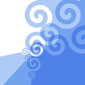 Mavi doku — Stok Vektör