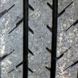 Car tire tread — Stock Photo #5973813