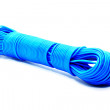 Blue plastic rope — Stock Photo