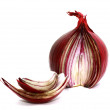 Cut red onion — Stock Photo
