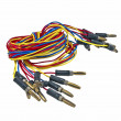 Colorful electrical wires — Stock Photo
