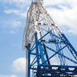 Detail from a Floating Crane — Stock Photo