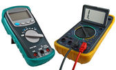 Digital multimeters — 图库照片