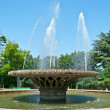 Stock Photo: Fountain in city park
