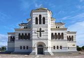 弗拉基米尔 · 大教堂在塞瓦斯托波尔 — 图库照片