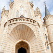 The Episcopal Palace in Astorga — Foto de Stock