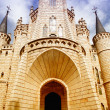 The Episcopal Palace in Astorga - Stock Photo