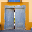 Rustic door — Stock Photo