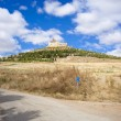 Stock Photo: View of Castrojeriz, Spain