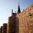 Roman walls, Astorga - Stock Photo