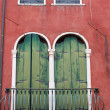 Stock Photo: Balcony in Venice