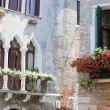 Typical Venetibalcony — Stockfoto #6518298