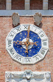 Clock arsenal, Venice — Stock Photo