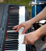 Pianist — Stock Photo