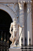 Statue of Arsenal, Venice — Stock Photo