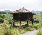 Asturian granary — Stock Photo