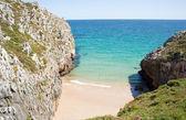 Nueva de Llanes beach — Stock Photo