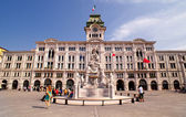 Piazza unità d'Italia, Trieste — Stock Photo