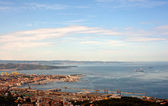 View of the Trieste Gulf — Stock Photo
