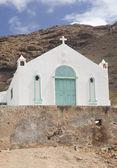 Igreja branca — Foto Stock